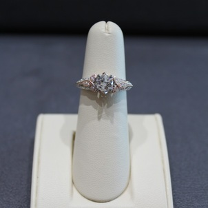 Two Tone Gold Engagement Ring Remount EberingAfter1-94