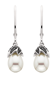 The History of the Pearl, Junes Birthstone Pearl-Earrings-56