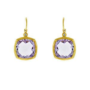 Amethyst: The Birthstone for February  Pink-Amethyst-Earrings-27