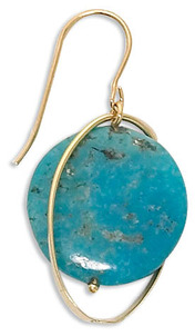 Turquoise, The Captivating Birthstone of December Turquoise-Lentil-with-Orbit-Earring-43