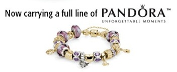 Now carrying a full line of Pandora Jewelry